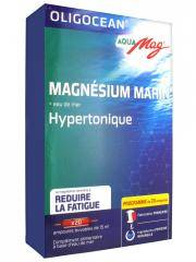 Oligocean Aqua Mag Magnésium Marin + Eau de Mer Hypertonique 20 Ampoules - Boîte 20 ampoules