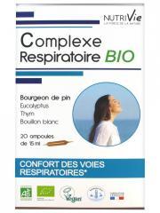 Nutrivie Complexe Respiratoire Bio 20 Ampoules - Boîte 20 Ampoules de 15 ml