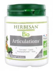 Herbesan Bio Articulations 100 Gélules - Pot 100 Gélules