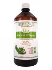 Herbesan Bio Aloe Vera Biologique 1 Litre - Bouteille 1000 ml