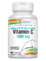 Solaray Vitamine C 1000 mg 100 Comprimés - Boîte 100 comprimés