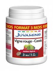 Juvamine Phyto Vigne Rouge Cassis 90 Comprimés - Boîte 90 Comprimés