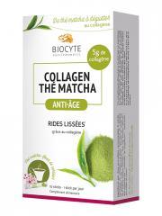 Biocyte Collagen Thé Matcha Anti-Âge 10 Sticks - Boîte 10 Sticks