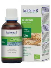 Ladrôme Extrait de Plante Bio Ginseng 50 ml - Flacon 50 ml