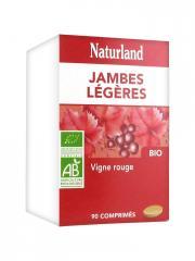 Naturland Vigne Rouge Bio 90 Comprimés - Boîte plastique 90 comprimés