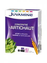 Juvamine Concentré d'Artichaut 10 Ampoules - Boîte 10 ampoules