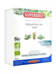 Super Diet Ma Détox Ciblée Voies Respiratoires Bio 10 Ampoules - Boîte 10 Ampoules de 15 ml