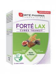 Forté Pharma Forté Lax Cubes Transit 12 Cubes à Mâcher - Boîte 12 Cubes