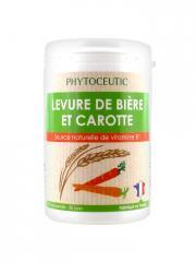 Phytoceutic Levure de Bière et Carotte 90 Comprimés - Boîte 90 comprimés