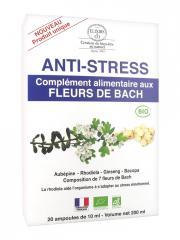 Elixirs & Co Complément Alimentaire aux Fleurs de Bach Anti-Stress Bio 20 Ampoules - Boîte 20 ampoules de 10 ml