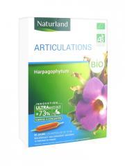 Naturland Articulations Bio 20 Ampoules Buvables de 10 ml - Boîte 20 Ampoules de 10 ml