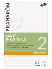 Pranarôm Oléocaps+ 2 Santé Intestinale Bio 30 Capsules - Boîte 30 Capsules