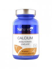 Nature Attitude Calcium Bisglycinate Chélaté 60 Gélules - Pot 60 Gélules