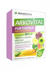 Arkopharma Arkovital Pur'Énergie 60 Gélules - Boîte 60 gélules