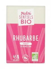 Nutrisanté Nutri'SENTIELS BIO Rhubarbe 45 Gélules - Flacon 45 Gélules