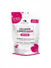 Biocyte Collagen Express Gummies Anti-Âge Bonbons Beauté de la Peau 30 Bonbons - Sachet 30 Bonbons