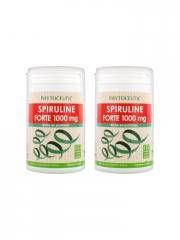 Phytoceutic Spiruline Forte 1000 mg Lot de 2 x 100 Comprimés - Lot 2 x 100 Comprimés