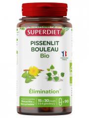 Super Diet Pissenlit Bouleau Bio 90 Gélules - Boîte 90 Gélules