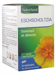 Naturland Escholtzia 75 Végécaps - Boîte plastique 75 végécaps