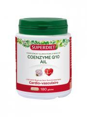 Super Diet Coenzyme Q10 Ail 180 Gélules - Boîte 180 gélules