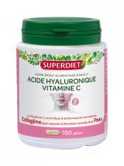 Super Diet Acide Hyaluronique Vitamine C 150 Gélules - Boîte 150 gélules