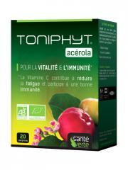 Santé Verte Toniphyt Acérola 20 Comprimés - Boîte 20 comprimés
