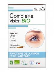 Nutrivie Complexe Vision Bio 20 Ampoules - Boîte 20 ampoules x 15 ml