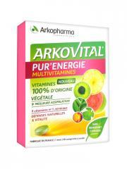 Arkopharma Arkovital Pur'Énergie 30 Comprimés - Boîte 30 comprimés