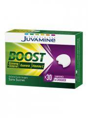 Juvamine Boost Ginseng Guarana Vitamine C 30 Comprimés à Croquer - Boîte 30 comprimés à croquer