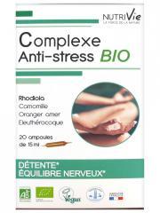 Nutrivie Complexe Anti-Stress Bio 20 Ampoules - Boîte 20 Ampoules de 15 ml