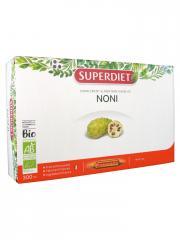 Super Diet Noni Bio 20 Ampoules - Boîte 20 Ampoules de 15 ml