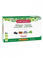Super Diet Quatuor Tamarin Transit Bio 20 Ampoules - Boîte 20 ampoules de 15 ml