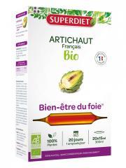 Super Diet Artichaut Bio 20 Ampoules - Boîte 20 ampoules de 15 ml