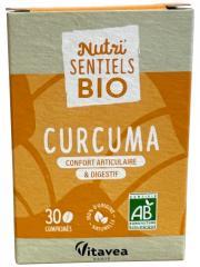 Nutrisanté Nutri'SENTIELS BIO Curcuma 30 Comprimés - Flacon 30 Comprimés