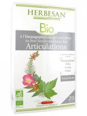 Herbesan Bio Complexe Harpagophytum Articulations 20 Ampoules de 15 ml - Boîte 20 ampoules