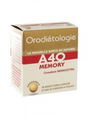 Laboratoires Zannini Orodiétologie A40 Memory 40 Orogranules - Boîte 40 orogranules
