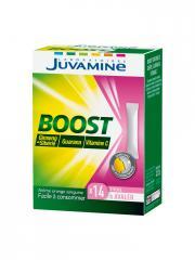 Juvamine Vitamine C Ginseng Guarana 14 Sticks - Boîte 14 sticks