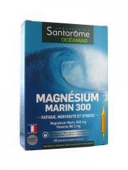 Santarome Océamag Magnésium Marin 300 20 Ampoules - Boîte 20 Ampoules de 10 ml