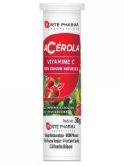 Forté Pharma Acérola Vitamine C 12 Comprimés - Tube 12 Comprimés