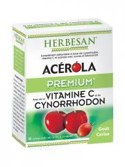 Herbesan Acérola Premium 30 Comprimés - Boîte 30 comprimés