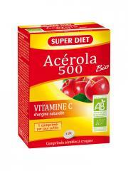 Super Diet Acérola 500 Bio 24 Comprimés - Boîte 24 comprimés