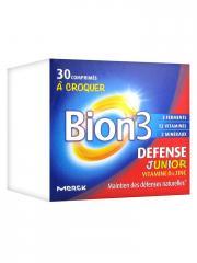 Bion 3 Défense Junior 30 Comprimés à Croquer - Boîte 30 comprimés