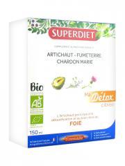 Super Diet Ma Détox Ciblée Foie Bio 10 Ampoules - Boîte 10 Ampoules de 15 ml