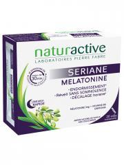 Naturactive Sériane Mélatonine 20 Sticks Orodispersibles - Boîte 20 sticks