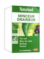Naturland Complexe Minceur Drainage Bio 90 Comprimés - Boîte plastique 90 comprimés