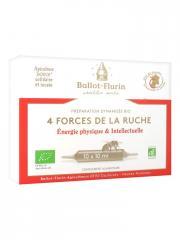 Ballot-Flurin Préparation Dynamisée Bio 4 Forces de la Nature 10 Ampoules - Boîte 10 ampoules x 10 ml