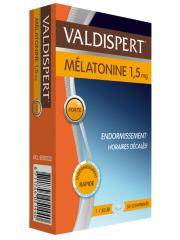 Valdispert Mélatonine 1,5 mg 50 Comprimés - Boîte 50 comprimés