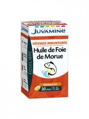 Juvamine Huile de Foie de Morue 30 Capsules - Boîte 30 capsules