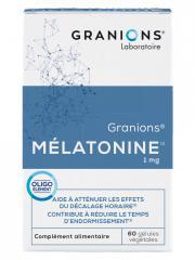 Granions Melatonine 1 mg 60 Gélules - Boîte 60 gélules