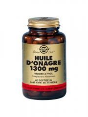 Solgar Huile d'Onagre 1300 mg 60 Gélules - Flacon 60 gélules